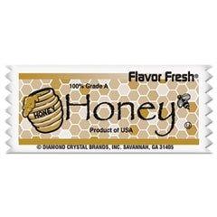 DIAMOND CRYSTAL BRANDS FLAVOR FRESH Honey Pouches, .317oz Packet, 200/Carton (79001) by Diamond Crystal Brands (Image #1)