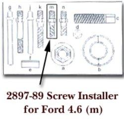 KD Tools (KDT2897-89) Screw Installer for Ford 4.6 for KDT2897