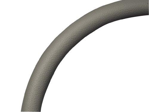 (Billet Specialties 29003 Light Gray Leather Half Wrap Steering Wheel)
