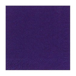 NAPKINS 2PLY 10x10 VIOLET, CS 4/250CT, 05-0359 DUNI SUPPLY CORP NAPKINS AND PAPER PL - Duni Supply Corp Napkins