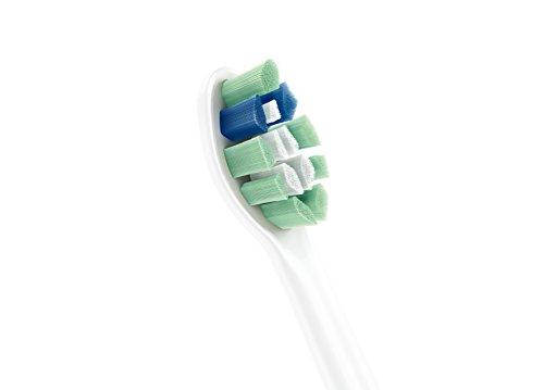 Philips Sonicare EasyClean Zahnbürste HX6512/45 - elektrische Schallzahnbürste mit Clean-Putzprogramm, Timer, Ladegerät & zwei Aufsteckbürsten – Weiß 4