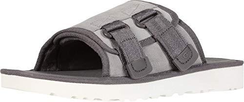 UGG Men's Dune Slide Sandal, Seal, 10 Medium US (Ugg Sandals Mens)