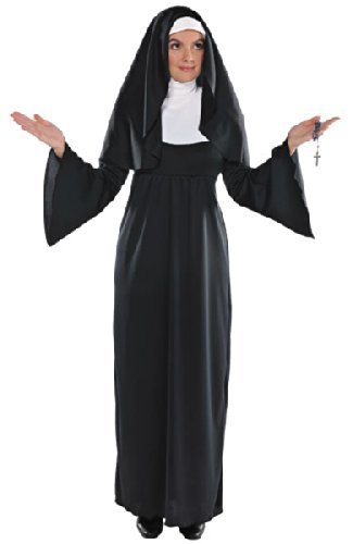 Amscan Adult Holy Sister Nun Costume Plus -