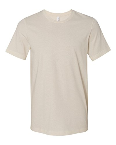 Bella 3001 Unisex Jersey Short Sleeve Tee - Natural, Medium
