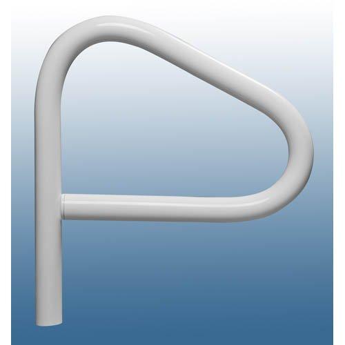 SAFTRON SF-24-W White Single Post Spa Floor Handrail