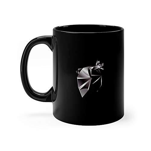 Origami Chrome Bat Coven Funny Cute Mug Ceramic 11 Oz