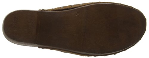 Zuecos BLACK BUNKER Clog CAMEL Mujer Negro YS18T