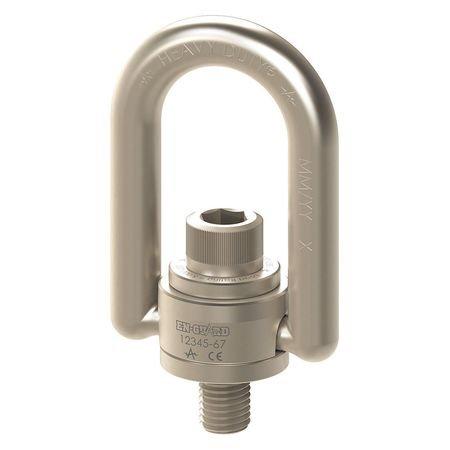 Hoist Ring, Bolt-On, 1/4-20'', 5 ft.-lb.
