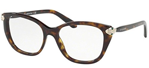 Bvlgari Women's BV4140B Eyeglasses Dark Havana 52mm