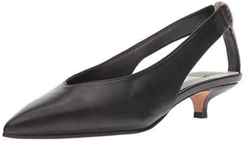 Dolce Vita Women's Orly Mule, Black Leather, 6 M US (Kitten Mule)