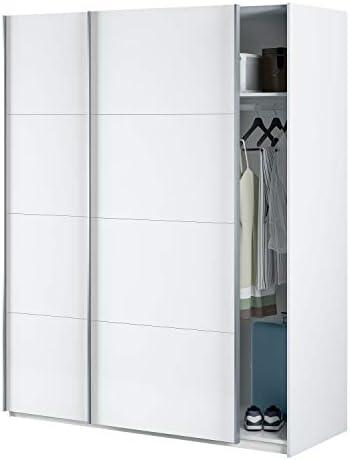 Habitdesign Armario con Dos Puertas correderas, Modelo Hera, Acabado en Blanco artik, 150 x 200 x 60 cm: Amazon.es: Juguetes y juegos