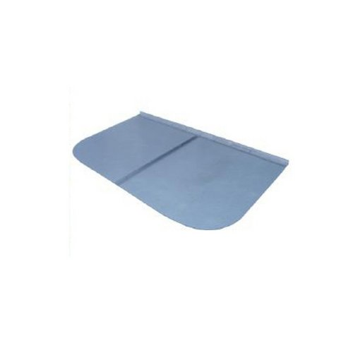 44 in. x 38 in. Rectangular Clear Polycarbonate Window Well Cover