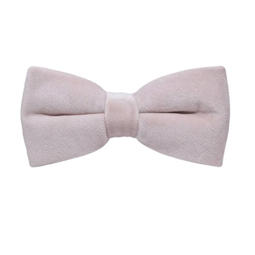 Luxury Dusky Light Pink Velvet Bow (Pink Velvet Bow)