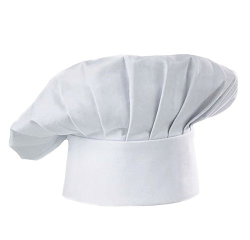 chef-hat-adult-adjustable-elastic-baker-kitchen-cooking-chef-cap-white