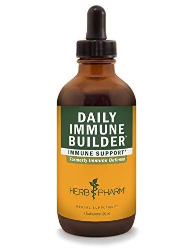 (Herb Pharm Daily Immune Builder Herbal Immune System Defense - 4 Ounce)