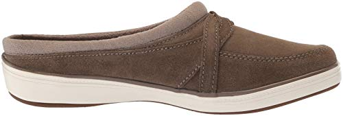 Suede Cruise Mule Brown Clog Women's Grasshoppers qtWOTv5zA5