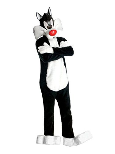 Supreme Edition Sylvester the Cat Adult Costume - (Sylvester Adult Costumes)
