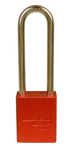 (American Lock Red Anodized Aluminum 5 Pin Tumbler )