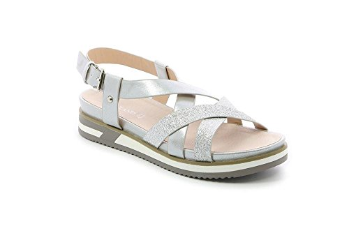 Sandalo Norm S Sa1645 Grunland Donna Argento qETHOx4W