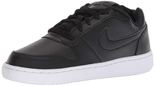 Nike Women's Ebernon Low Sneaker White/Black/Laser Fuchsia 8.5 Regular US