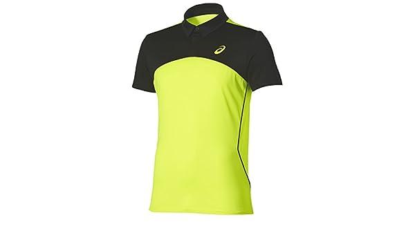 ASICS - Padel Players Polo, Color Amarillo, Talla M: Amazon.es ...