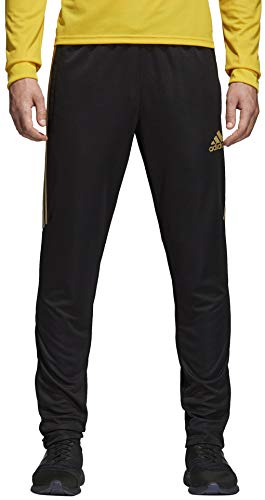 adidas Men's Tiro '17 Pants Black/Metallic Gold Large 31