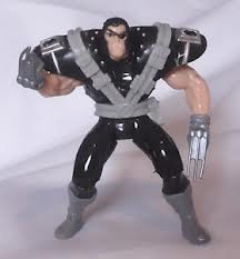 Wolverine Patch (Blue Pants) from X-Men Battle Brigade Action Figure