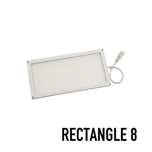 (SPOTMOD Slik 12V LED Panel Modules 4 x 8 in Rectangle 4000K White)