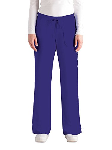 Grey's Anatomy 4245 Cargo Pant Purple Rain - Bottoms Scrubs Purple