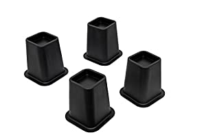 Kings brand heavy duty 6 inch bed risers or for Sofas under 80 inches