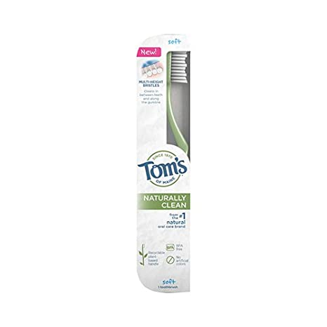 Tom s of Maine – Adulto – Cepillo de dientes suave ...