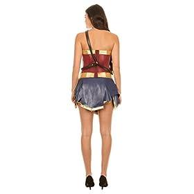 - 31n831xvf7L - Dc Comics Wonder Woman Warrior Corset and Skirt Costume Set