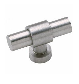 - Acorn AZC203-BRU Brushed Stainless Steel Cabinet Knob - Simplicity