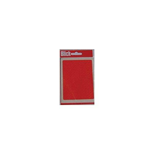 Blick Label Bag 5mm Red Pack of 980 RS001355 Pack of 20 - Blick Label Bag