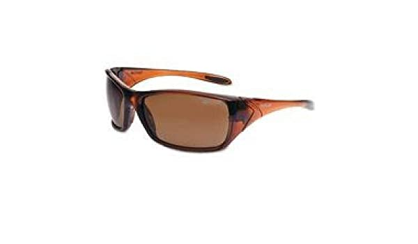 Bolle Safety 40061 Gray Lens Polarized//Anti-Fog Shadow Safety Glasses Black