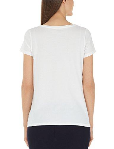 Marc Cain Sports Damen T-Shirt Mehrfarbig (Off-white 110) t814pg