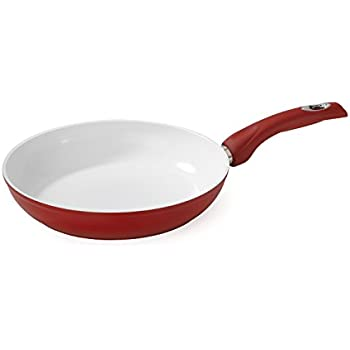 Amazon Com Bialetti Aeternum Red 7192 Fry Pan 10 25 Inch