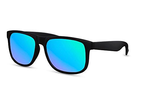Lunettes soleil Mirrored Lentilles Noir Véritables Cheapass Wayfarer Outdoor UV Revo e de Ca Randonnée 004 Sport Hommes Mens 400 Enzqqdp