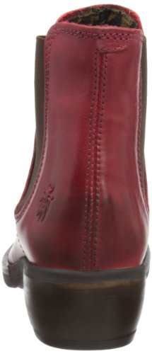 Mujer Fly Make Red Botas Rojo para 006 Chelsea London qSXgSOwP