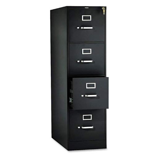 310 Series 15''W 4-Drawer Letter Vertical File Finish: Putty by HON