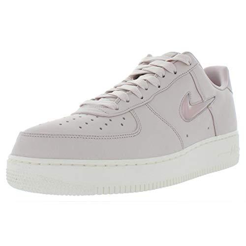 Nike Mens Air Force 1 Retro Premium Leather Fashion Sneakers Pink 13 Medium (D) ()