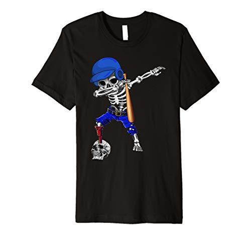 Dabbing Baseball Player Halloween Costume For Men Women Premium T-Shirt]()
