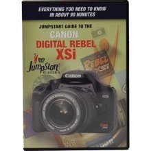 JumpStart Video Training Guide on DVD, for the Canon Digital Rebel XSi Camera (Xsi Dvd)