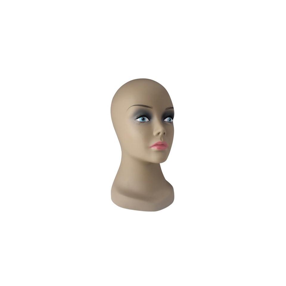 Wig Display Mannequin Head 12 Inch (Dark)