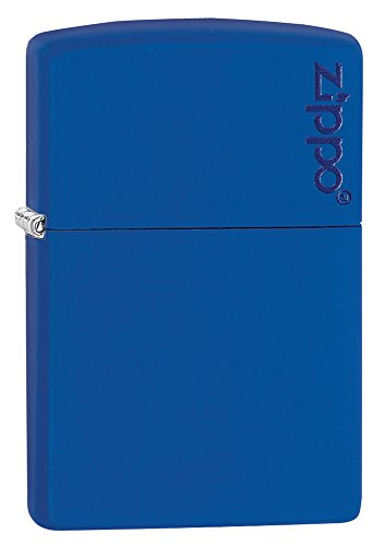 zippo-royal-blue-matte-logo-pocket-lighter