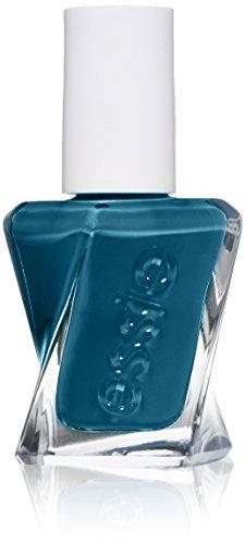 (essie Gel Couture 2-Step Longwear Nail Polish, Off-Duty Style, Teal Blue Nail Polish, 0.46 fl. oz.)