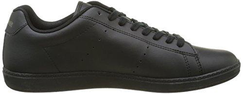 Le Coq Sportif Courtone S Lea - Zapatillas de deporte Hombre Negro (Black/BlackBlack/Black)