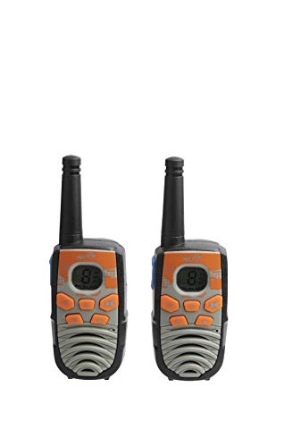 Nerf 37756 10 Mile Walkie Talkie Set, Orange and Black