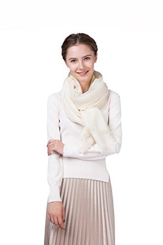 100% Merino Wool Shawl Scarf Women Winter Wrap, Hijab, Holiday Gift (Merino Wrap)