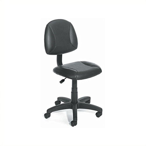 Boss Office Products B305 Posture Task Chair without Arms in Black by Boss Office Products